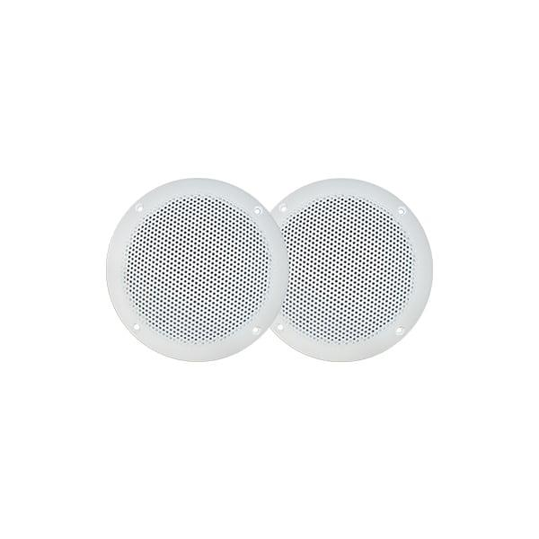 5' (130mm) ULTRA SLIM FULL RANGE SPEAKERS - PAIRSPECIFICATIONS: Waterproof (IP65) UV Stabilised White...