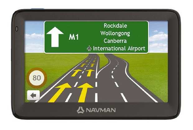 "5"" LCD touchscreen Smart Find™ Keyword Search Premium Safety Alerts 3D Junction Views Speed Limit..."