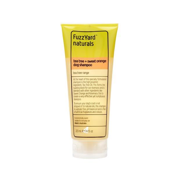 fuzzyard tea tree shampoo  220ml | FuzzYard dog | pet supplies| Product Information:...
