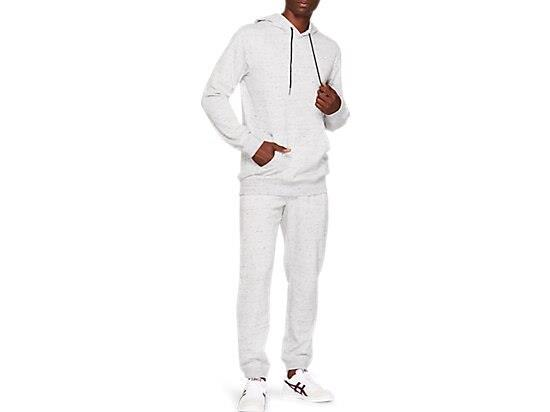 Made from premium fleece fabric, this pullover hoodie is complemented by ribbed details on the sleeve...