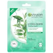 Garnier® Green Tea Hydrabomb Mask, with super thin tissue wrap enriched with ultra-hydrating formula...