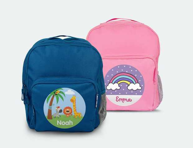 Toddler Backpack | Small Backpack | Personalised Bags For Toddlers Looking for personalised bags for...