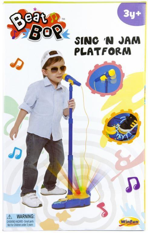 Sing 'N Jam Mic & Platform