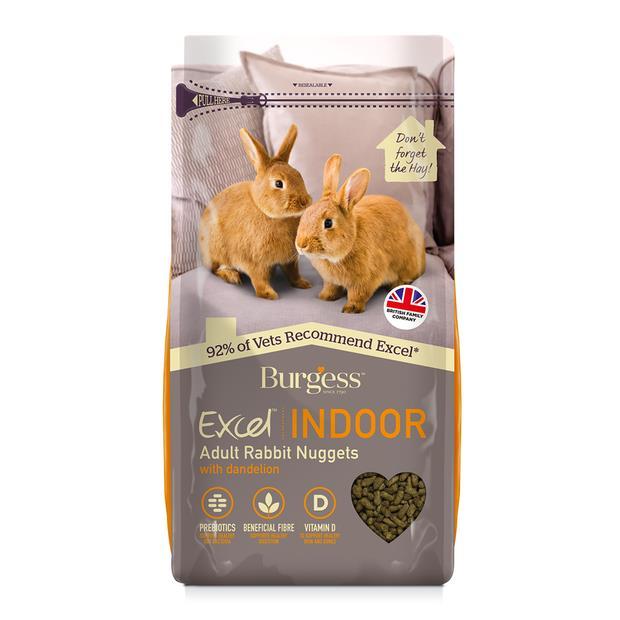 burgess indoor rabbit nuggets  1.5kg | Burgess food | pet supplies| Product Information:...
