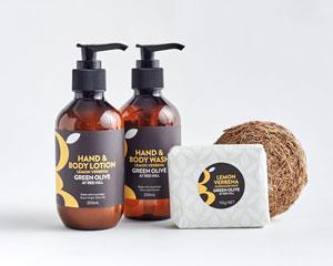 Treat your body with this wonderful hamper packed with natural skin care products made on the...