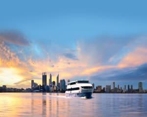 Relax and enjoy the enchanting atmosphere of the Swan River at night. Whether youre celebrating a...