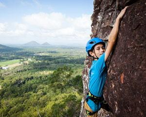 The best Full Day Rock climbing on the Sunshine Coast. You'll be rock climbing at the Glasshouse...