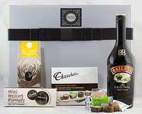 This Hamper is perfect for those quiet evenings of indulgence. Pour a glass of Baileys and savour with...