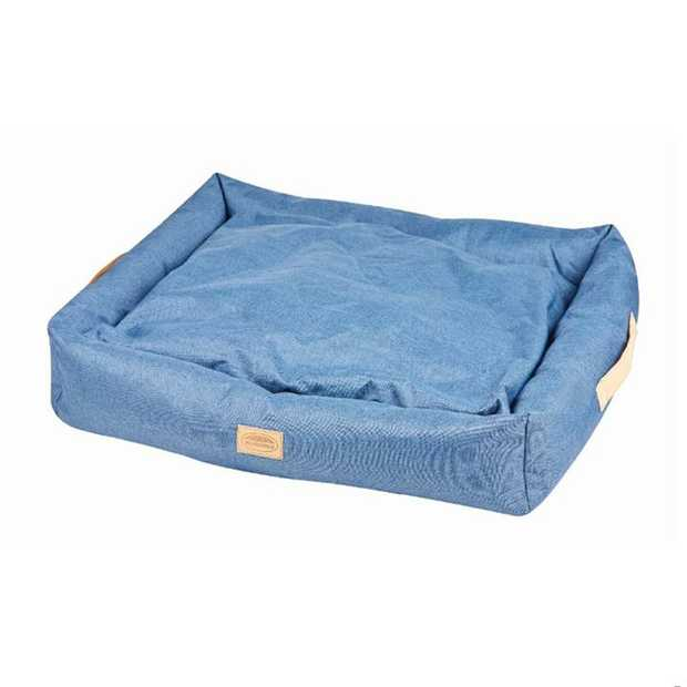Weatherbeeta Dog Bed Denim Square Blue is a stylish, modern, cosy and comfy dog bed that will look...