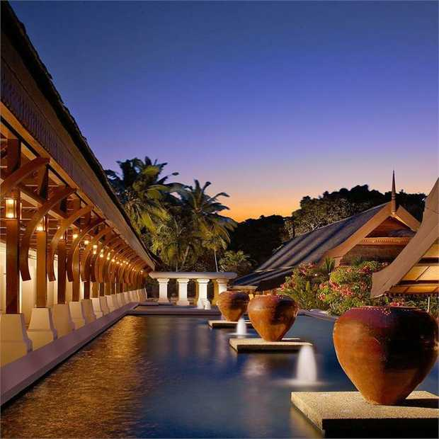 Cloaked in a canopy of lush jungle and fronted by the South China Sea, Tanjong Jara Resort is an...