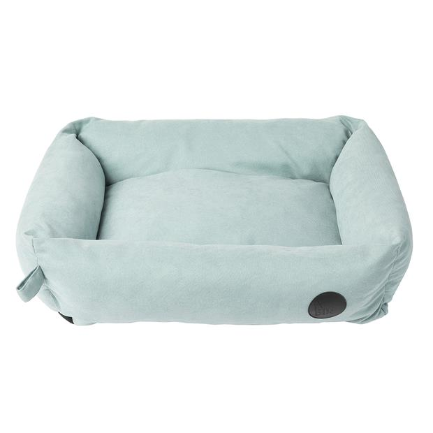 fuzzyard lounge dog bed powder blue  medium | FuzzYard dog | pet supplies| Product Information:...