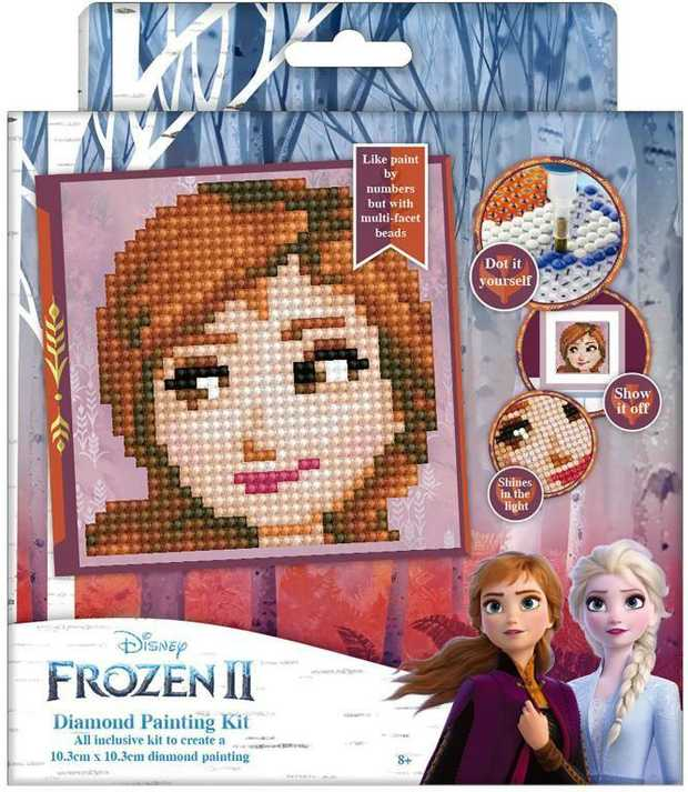 Diamond Dotz Frozen - Mini Anna 10 X 10Cm