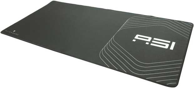 The Alienware Area-51 Extra Large Gaming Mouse Mat allows for extra space when you need it most.