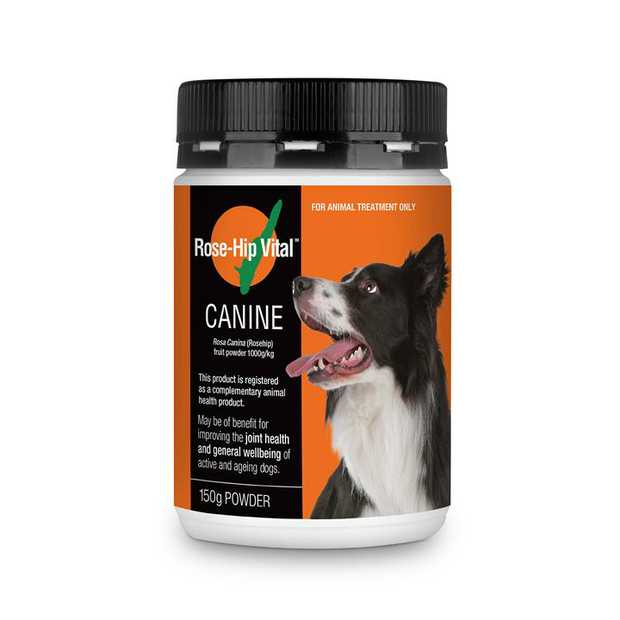 Rose-Hip Vital Canine powder in 150g is an innovative plant-based anti-inflammatory and immune system...