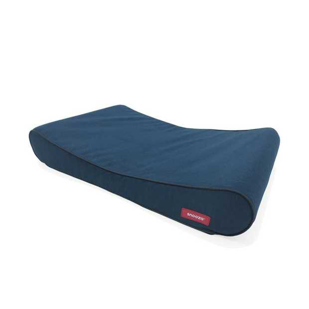 The Snooza Ortho Lounger Dog Blue is an orthopaedic, super comfortable, super stylish low-profile pet...