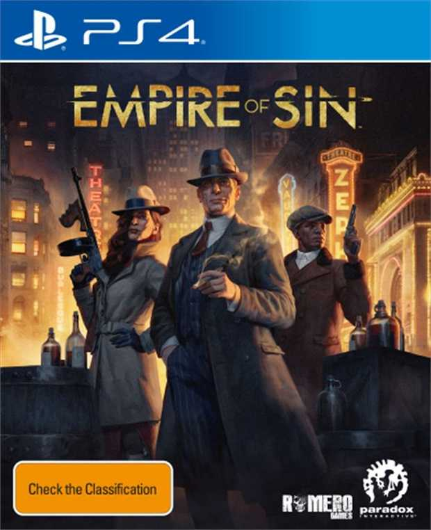 Empire of SinEmpire of Sin, the strategy game from Romero Games and Paradox Interactive, puts you at...