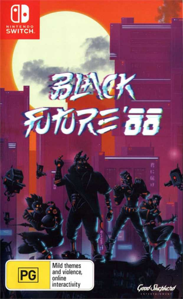Black Future 88Black Future '88 is a Synth-Punk roguelike 2D action Shooter. Vertically climb an...