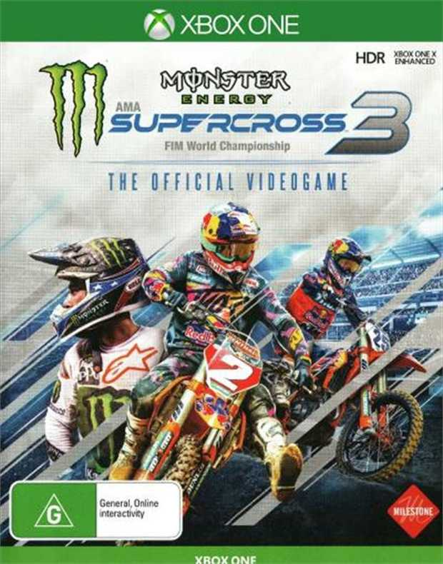 Monster Energy Supercross 3The only Official AMA Supercross Championship video game is back, more...