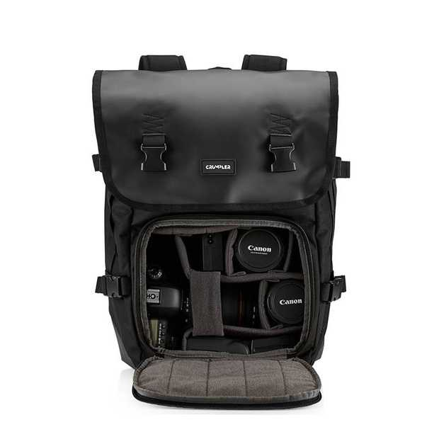 The Muli Half Photo Backpack is a camera backpack made from robust matt tarpaulin and 1000d Chicken...