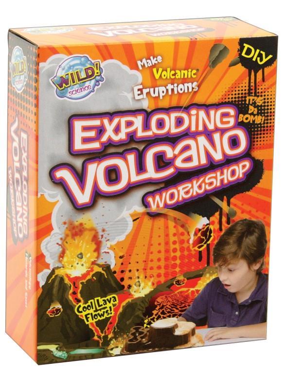 Exploding Volcano Workshop