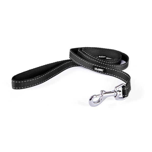 kazoo lead classic black  medium   Kazoo dog   pet supplies  Product Information:...