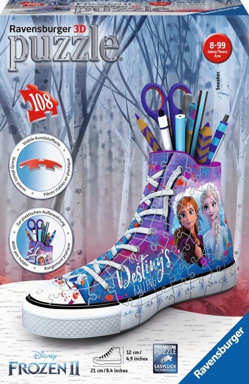 Ravensburger - Frozen 2 Sneaker 3D Sneaker 108Pc