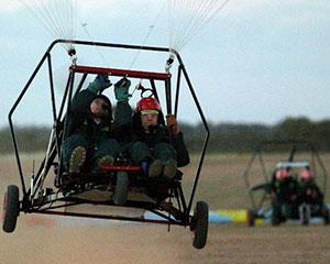 Get your heart racing and embrace extreme heights with an aerochute training flight over Werribee...