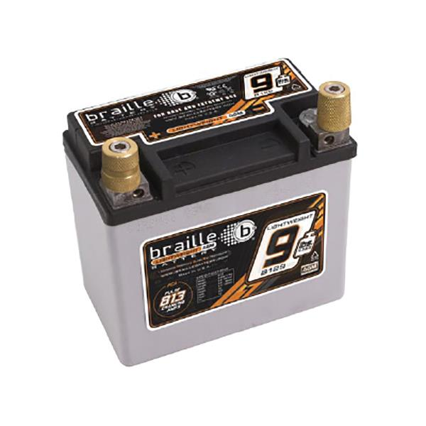 At just over 4kg, the B129 boasts 813 pulse cranking amps more than any other battery in its weight...