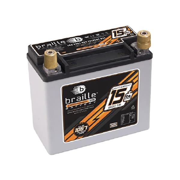 At under 7kg, the B2015 is out most popular non-carbon racing battery. It is able to start larger...