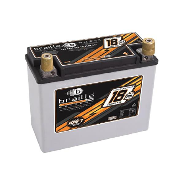 At 8.4kg, the B2618 has the highest amp hour to pound rating yet. Using our Advanced AGM racing...