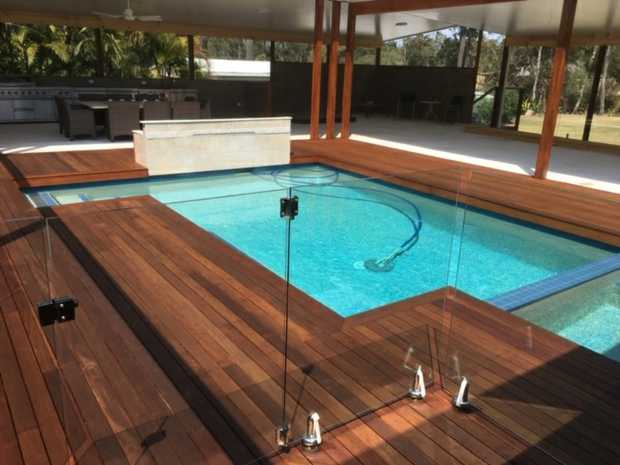 Products - Specialising in all aspects of Pool Decks and Entertainment Areas    Decks  Decking around...