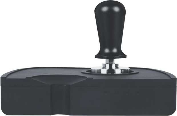 This Smeg two-piece coffee compression tamper and mat 38508/720 are essential for the correct tamping...