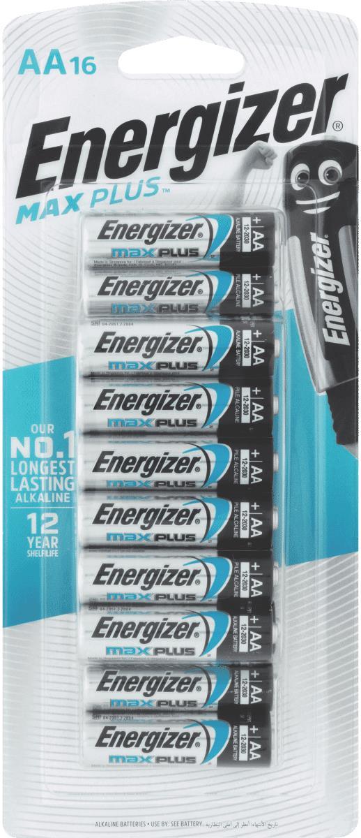 MaxPlus the world's longest lasting AA alkaline battery, 12 year shelf life
