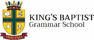 WARREN, DON   King's Baptist Grammar School Community expresses its heartfelt love and...