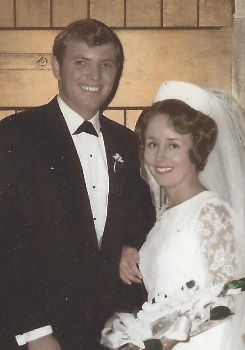 Happy Golden Wedding Anniversary Mum & Dad! Congratulations on 50 memorable years together. xxx
