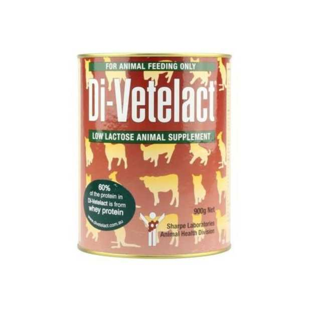Supplement your  animals diet at any life stage with Di Vetelact Low Lactose Animal Supplement. This...