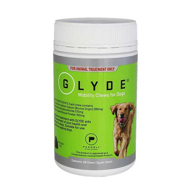 For dogs suffering from arthritis and associated pain and inflammation, Glyde Mobility Joint Health...