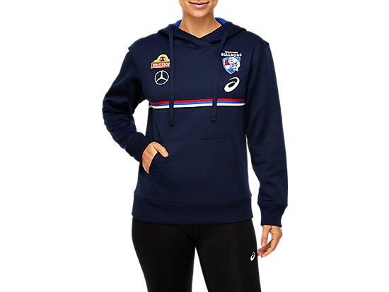 The WESTERN BULLDOGS REPLICA TRAINING HOODIE is constructed in polyester tech fleece for comfort and...