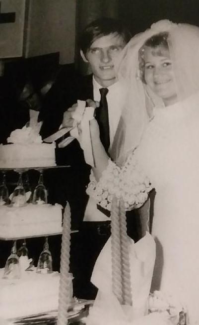 Happy Golden Wedding Anniversary Peter & Sandra (nee Broomfield) Kinsella Married 9th May...