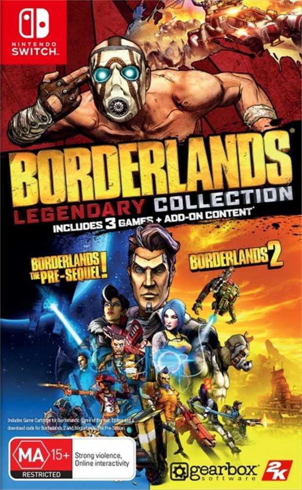 Borderlands Legendary CollectionGet three times the mayhem, three times the loot, and three times the...