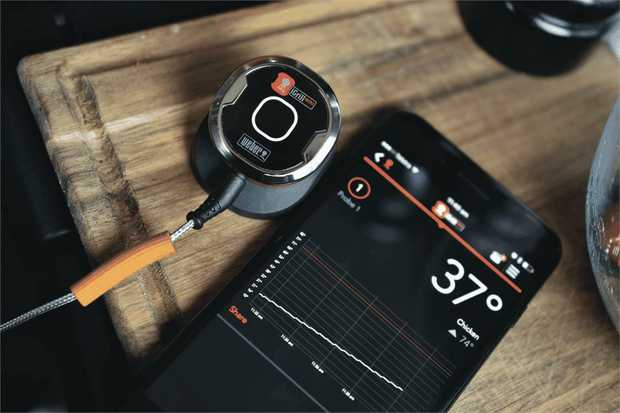 Take the guesswork out of barbecuing with the iGrill Mini digital Bluetooth thermometer. The iGrill...