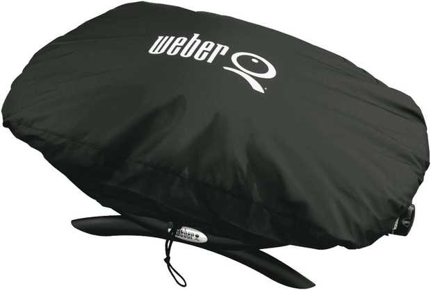 Keep your Weber Q clean and dust free with a fitted cover.