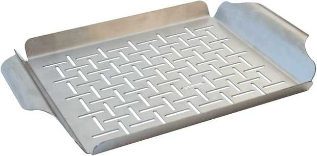 A great idea for cooking oven chips, vegetables or delicate fish on the barbecue.