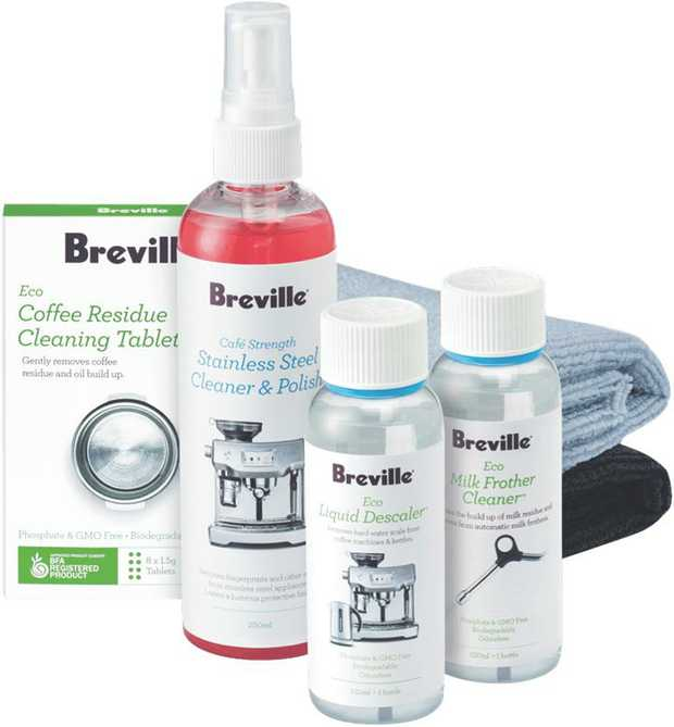 * Eco Descaler 120ml* Eco Milk Frother Cleaner 120ml* Eco Coffee Residue Cleaning Tablets 8's*...