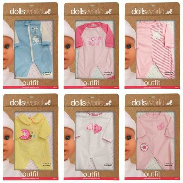 Dolls Outfit -Assorted 41Cm