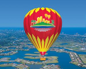 Everyone should experience a hot air balloon ride over the Gold Coast at least once. You'll love...