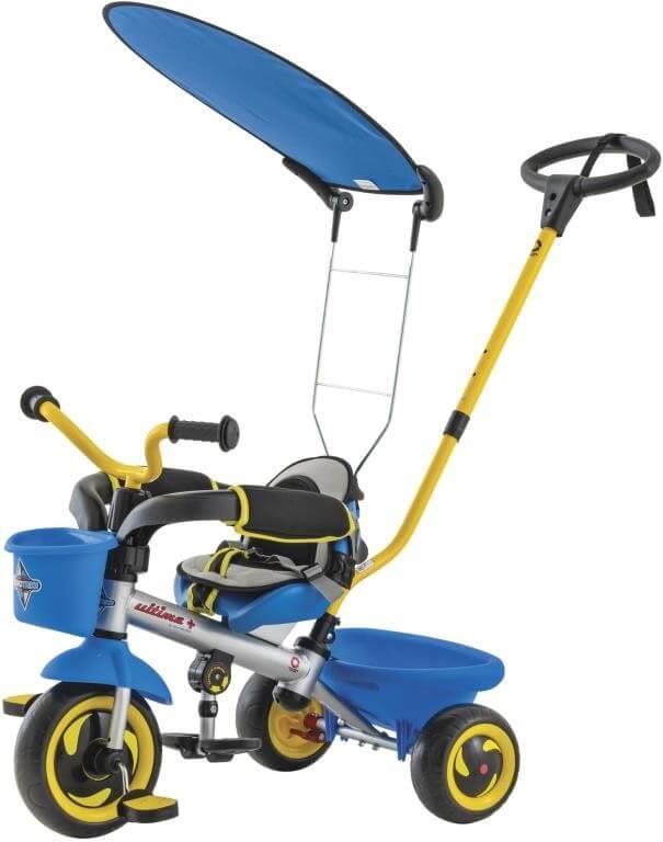 Euro Trike Ultima Plus With Canopy Blue