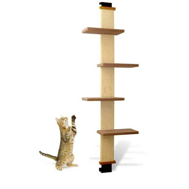 SmartCat Multi-Level Over-the-door Cat Climber Scratch Tower