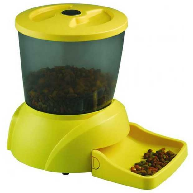Programmable Portion Controlled Automatic Pet Feeder - 18 Cup Capacity