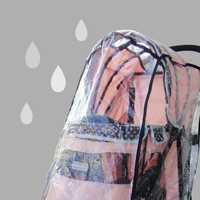 Ibiyaya Universal Stroller Raincover for Ibiyaya Pet Prams